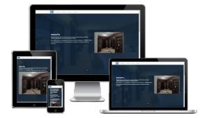 """Главная страница сайта дизайн-студии """"InteriorPRO"""""""