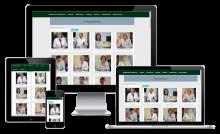 """Страница """"Наши специалисты"""" на сайте медицинского центра"""