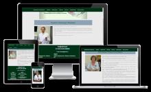 Биография врача на сайте медицинского центра
