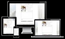 """Сайт Клинической Больницы №8, разработанный и созданный в веб-студии """"Сорока"""""""